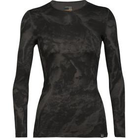 Icebreaker Nature Dye 200 Oasis Anniversary JBG Koszulka z długim rękawem Kobiety, ash